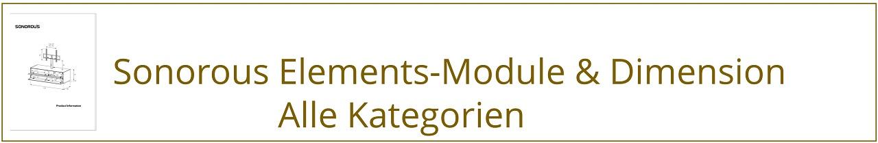 sonorous elements dimensions