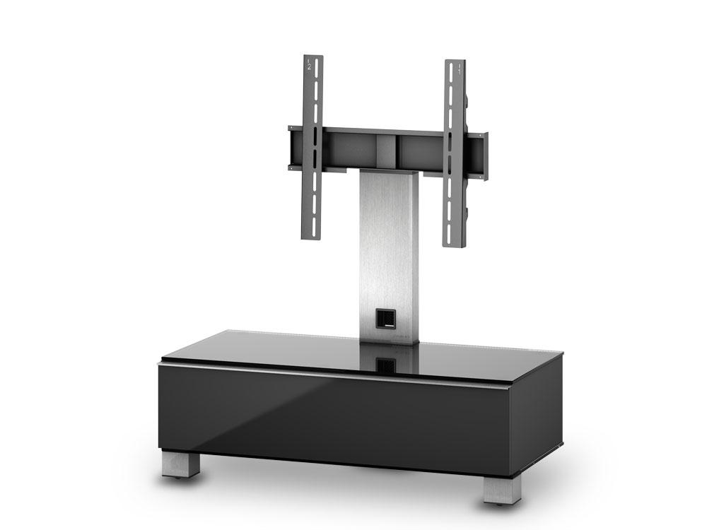 sonorous tv m bel md8095 c inx blk schwarz md8095 b. Black Bedroom Furniture Sets. Home Design Ideas