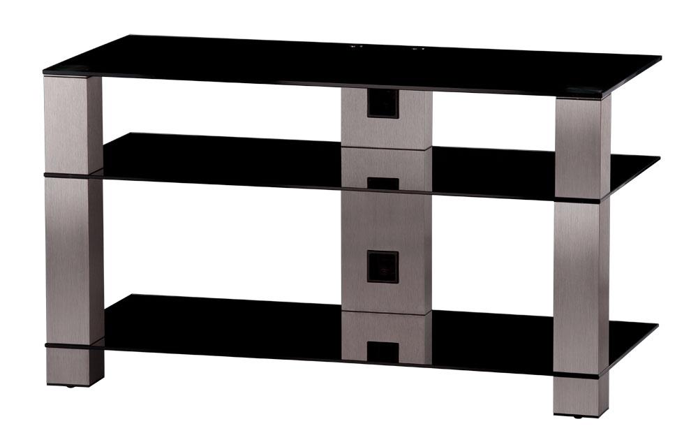 sonorous tv m bel pl3405 b inx mit rollen schwarzglas sonorous plasma hifi tv moebel ch. Black Bedroom Furniture Sets. Home Design Ideas