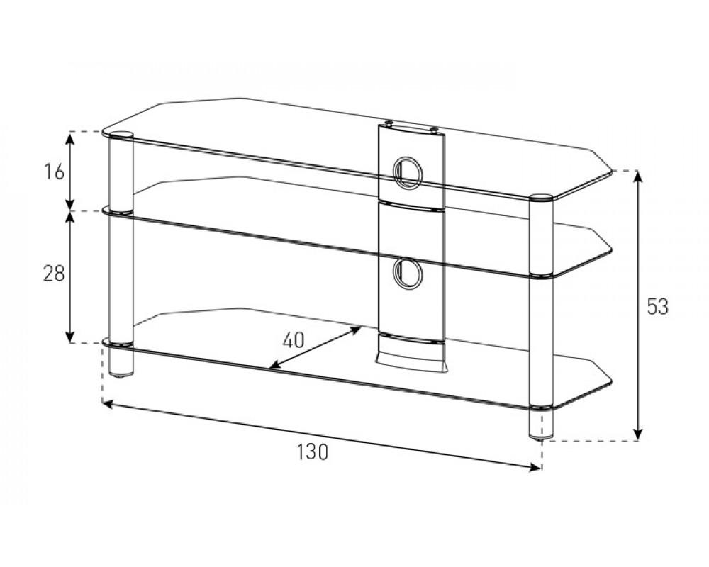 tv m bel neo3130 b blk mit rollen sonorous neo hifi tv. Black Bedroom Furniture Sets. Home Design Ideas