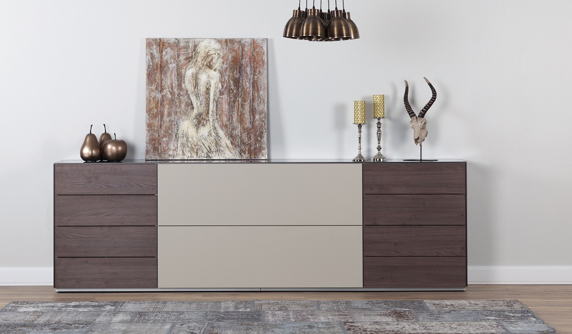 kommode sonorous elements sideboard kombination sb k7 b 260cm h sideboard schweiz. Black Bedroom Furniture Sets. Home Design Ideas