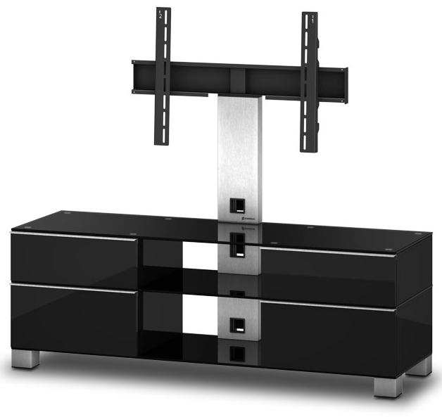 sonorous tv m bel md8240 b inx blk schwarz md8240 b. Black Bedroom Furniture Sets. Home Design Ideas
