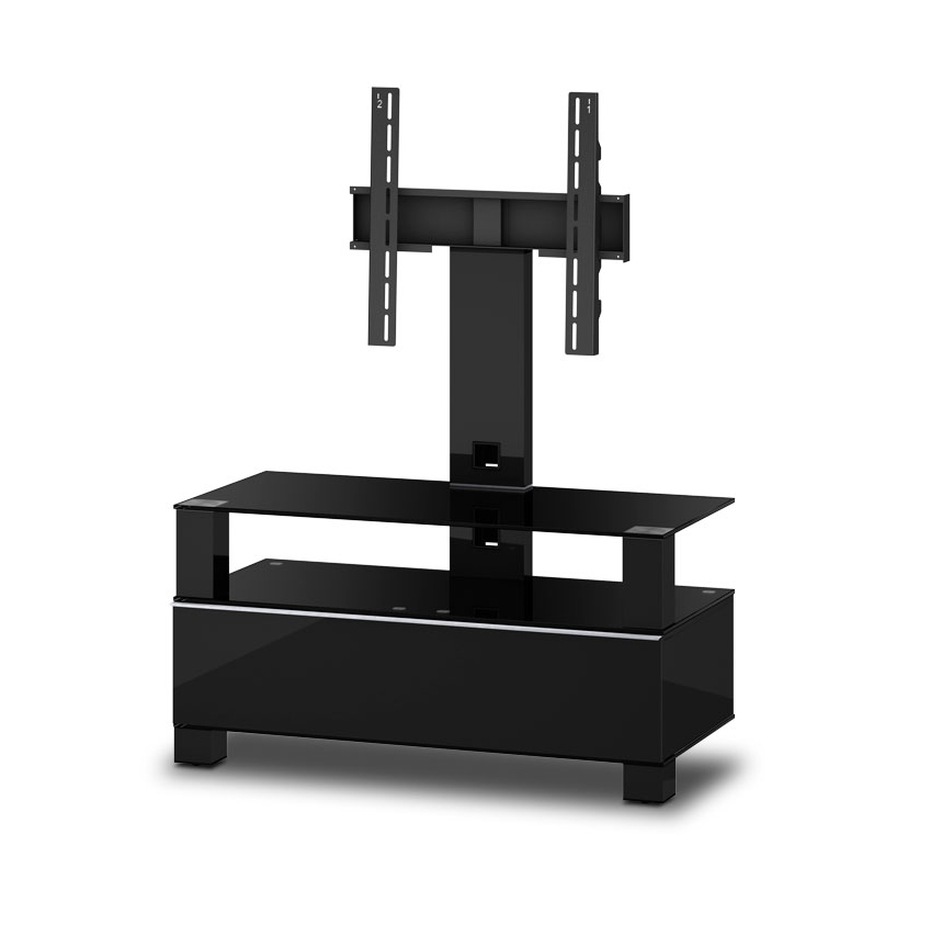 sonorous tv m bel md8953 b hblk blk schwarz mit halterung. Black Bedroom Furniture Sets. Home Design Ideas