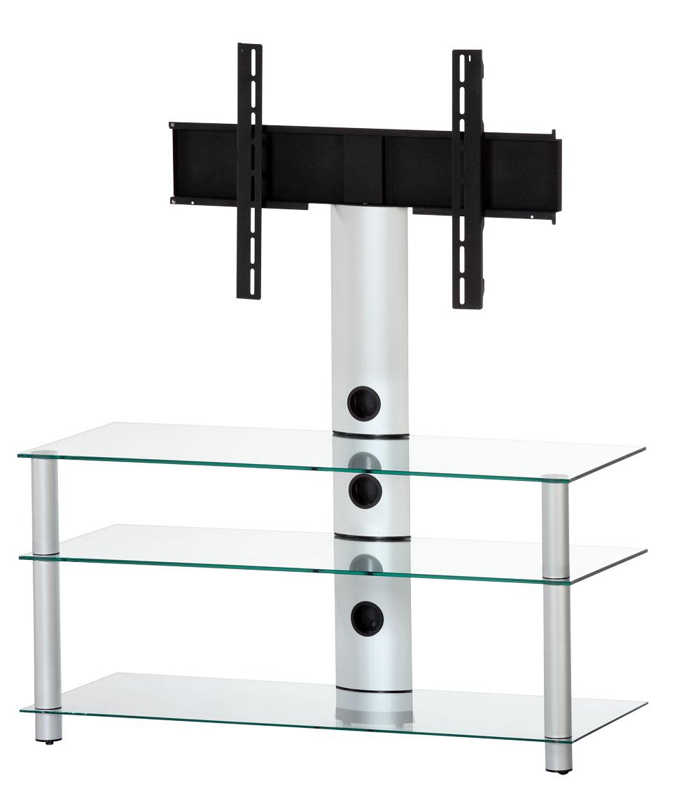tv m bel neo1103 c slv mit halterung mit rollen sonorous. Black Bedroom Furniture Sets. Home Design Ideas