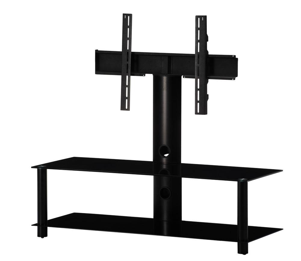 tv m bel neo130 b blk mit halterung mit rollen sonorous. Black Bedroom Furniture Sets. Home Design Ideas