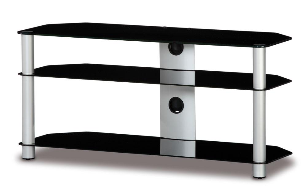 TV Möbel neo3110-b-slv mit rollen | Sonorous Neo | HIFI-TV-MOEBEL.CH