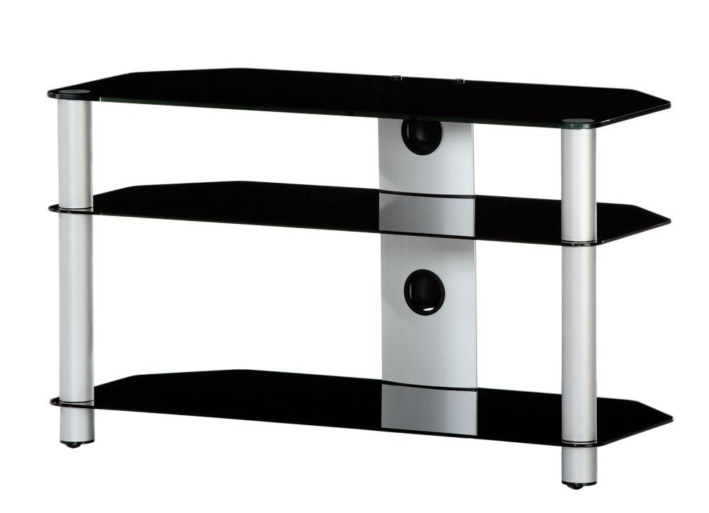 tv m bel neo390 b slv mit rollen sonorous neo hifi tv. Black Bedroom Furniture Sets. Home Design Ideas