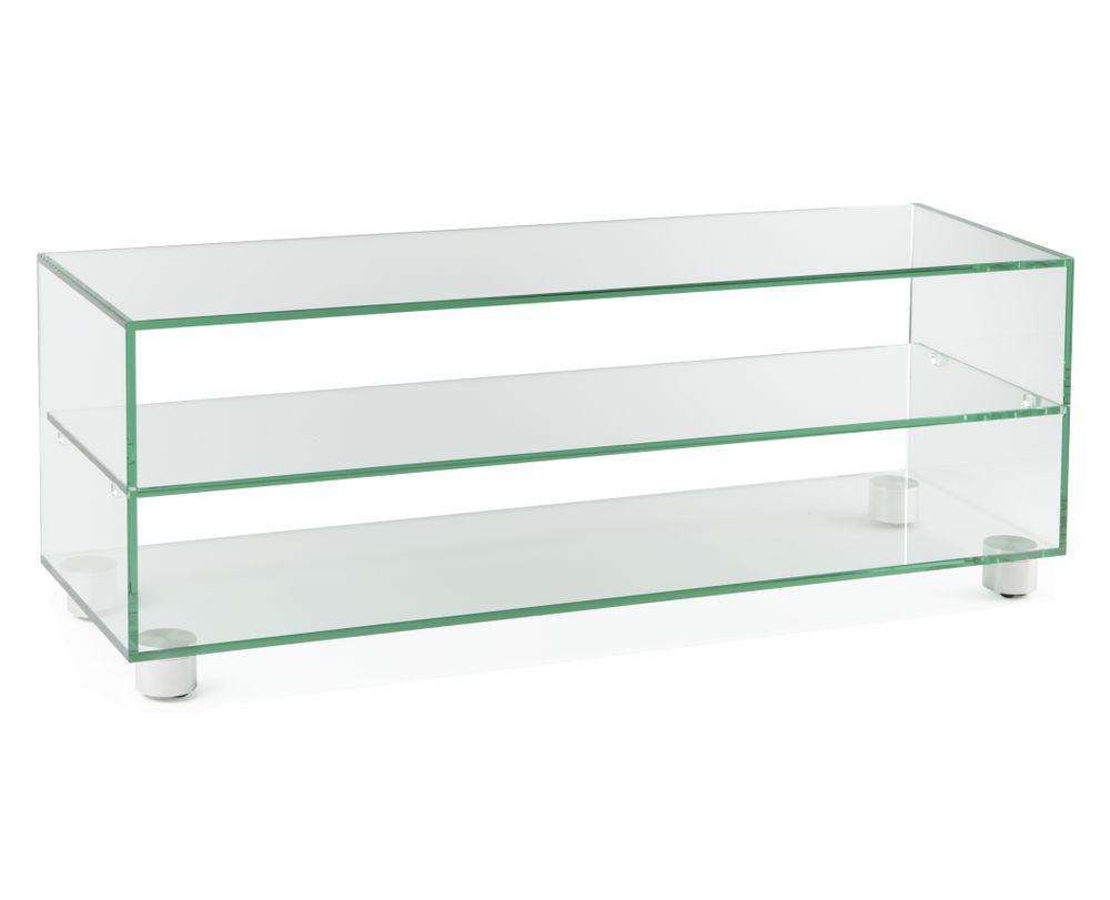 Fesselnde Tv Möbel Beste Wahl Möbel Rettangolo 1250, Klarglas