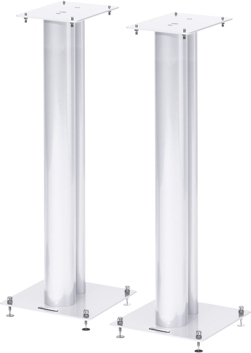 pieds haut parleurs norstone stylum 3 blanc meuble tv hifi suisse. Black Bedroom Furniture Sets. Home Design Ideas