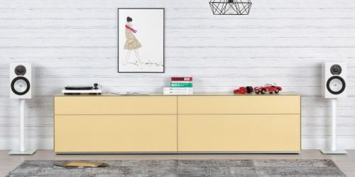Sideboard Sonorous Elements, Kommode Kombination SB-K10,B=260cm / H=63.5cm