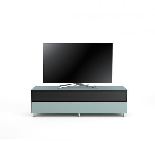 TV Möbel Lowboard 160 cm Epure SINGLE SOUND XL Nordic Blauglas