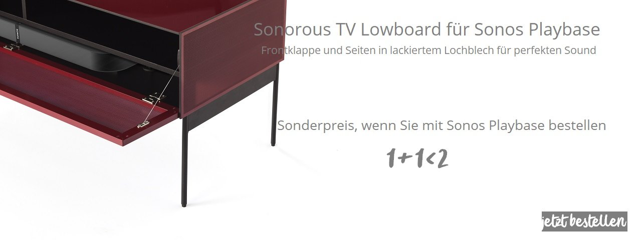 SONOROUS Möbel fèr SONOS Playbase