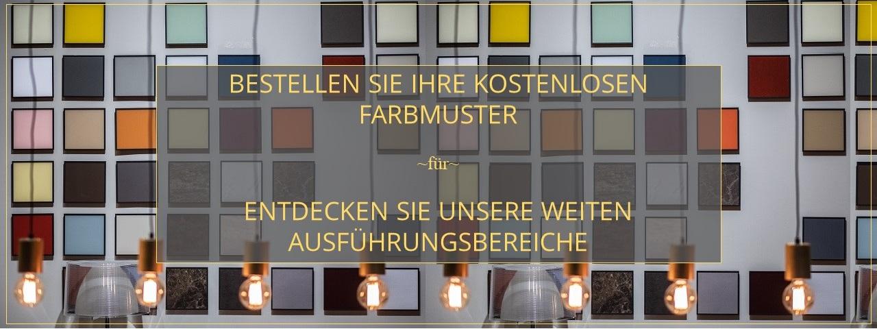 TV Lowboard -SIDEBOARD Farbemuster